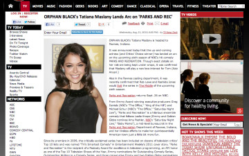 BroadwayWorld.com-Parks&Rec_TatianaMaslany